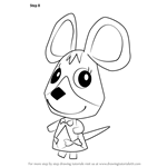How to Draw Carmen from Animal Crossing