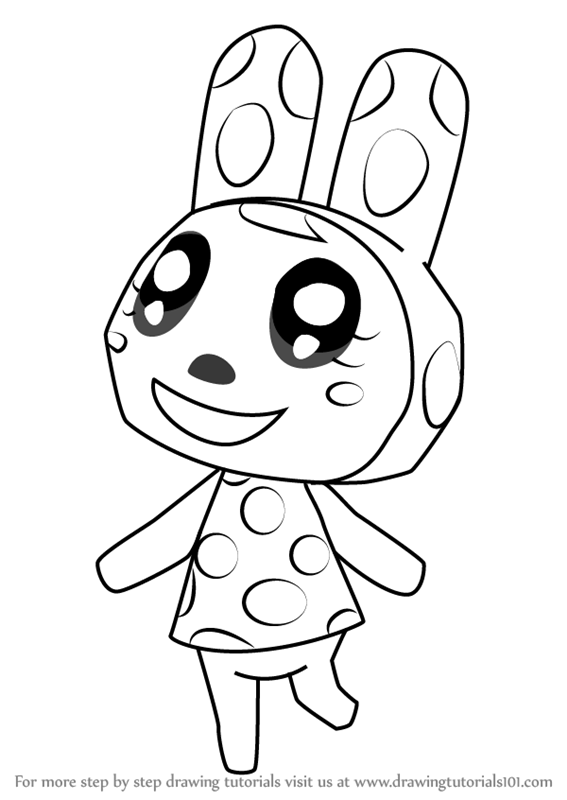Learn How To Draw Chrissy From Animal Crossing Animal
