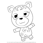 How to Draw Cupcake from Animal Crossing