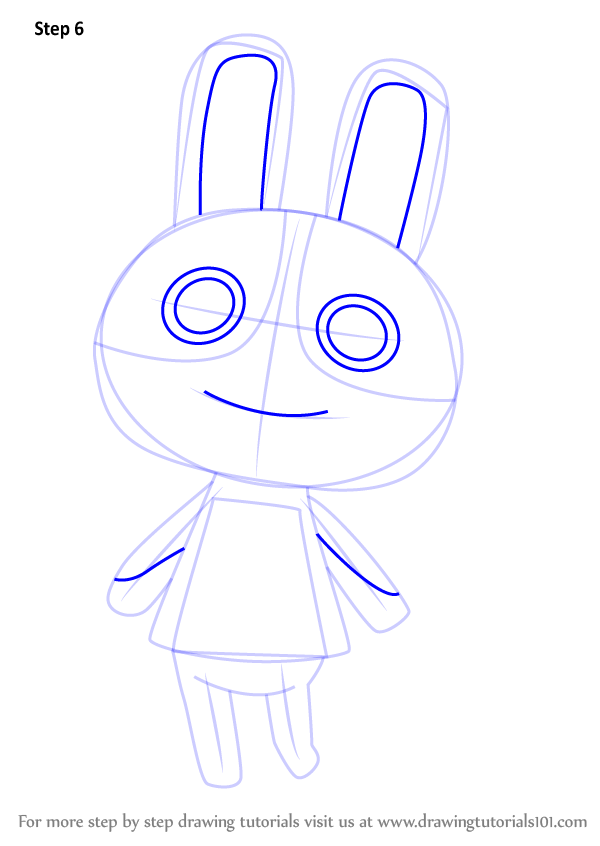 Learn How To Draw Dotty From Animal Crossing Animal