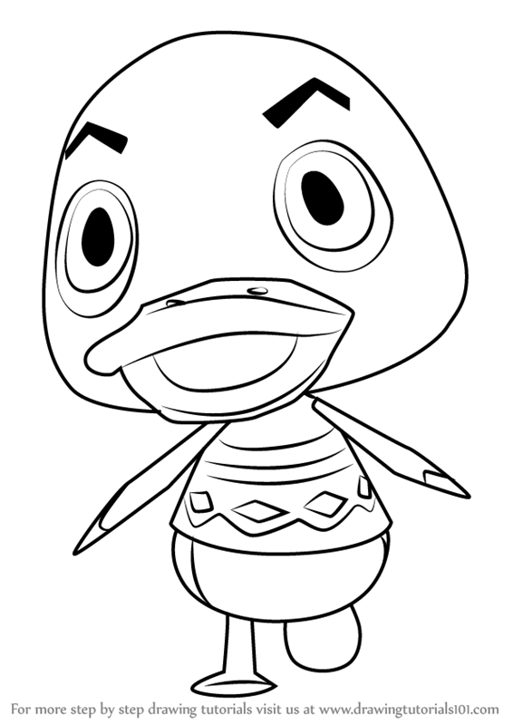 Learn How To Draw Drake From Animal Crossing Animal