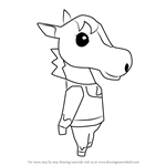 How to Draw Epona from Animal Crossing
