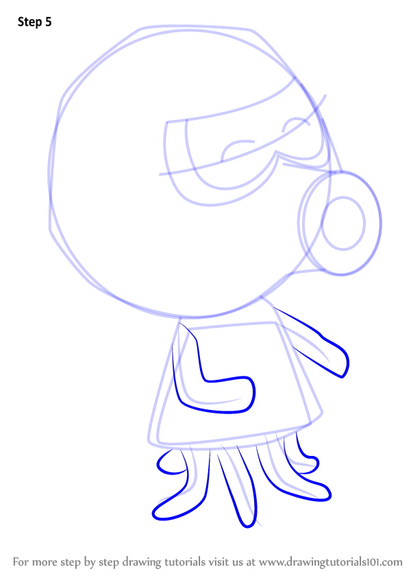 learn how to draw inkwell from animal crossing animal