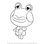 How to Draw Jambette from Animal Crossing