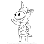 How to Draw Julian from Animal Crossing