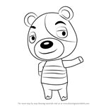 How to Draw Kody from Animal Crossing