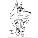 How to Draw Kyle from Animal Crossing
