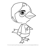 How to Draw Medli from Animal Crossing
