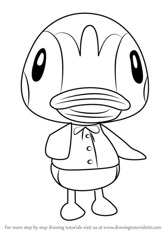Learn How To Draw Molly From Animal Crossing Animal Crossing Step