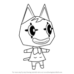How to Draw Pierre from Animal Crossing