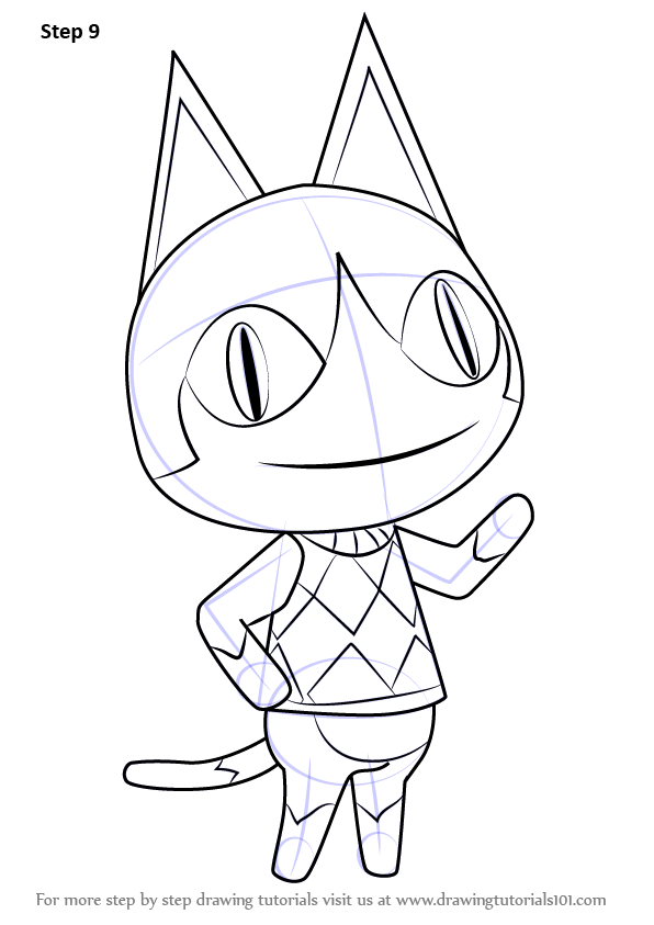 Learn How To Draw Rover From Animal Crossing Animal