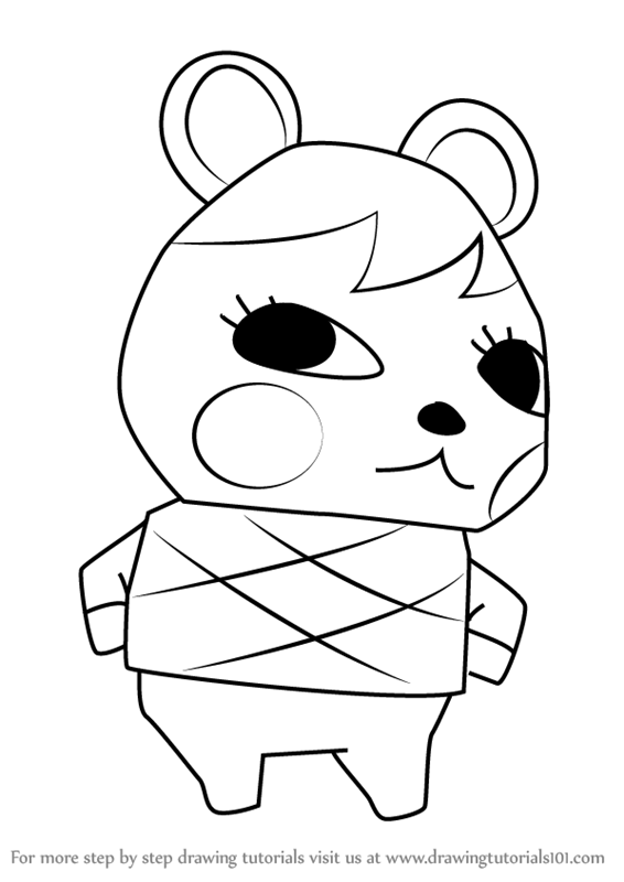 Learn How To Draw Soleil From Animal Crossing Animal