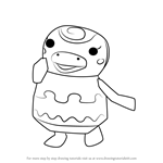 How to Draw Sprinkle from Animal Crossing