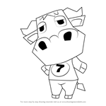 How to Draw Stu from Animal Crossing