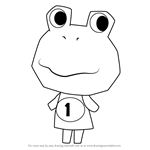 How to Draw Tad from Animal Crossing