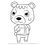 How to Draw Tammy from Animal Crossing