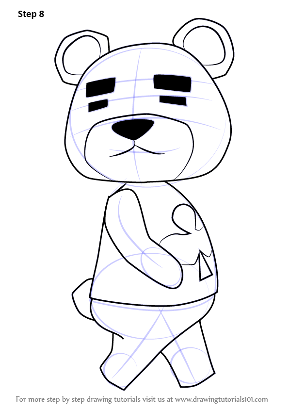 Learn How to Draw Teddy from Animal