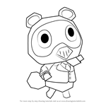 How to Draw Timmy from Animal Crossing