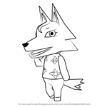 How to Draw Whitney from Animal Crossing