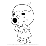 How to Draw Zucker from Animal Crossing
