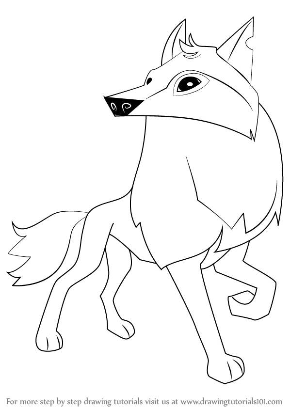 Animal Jam Arctic Wolf Coloring Pages To Print