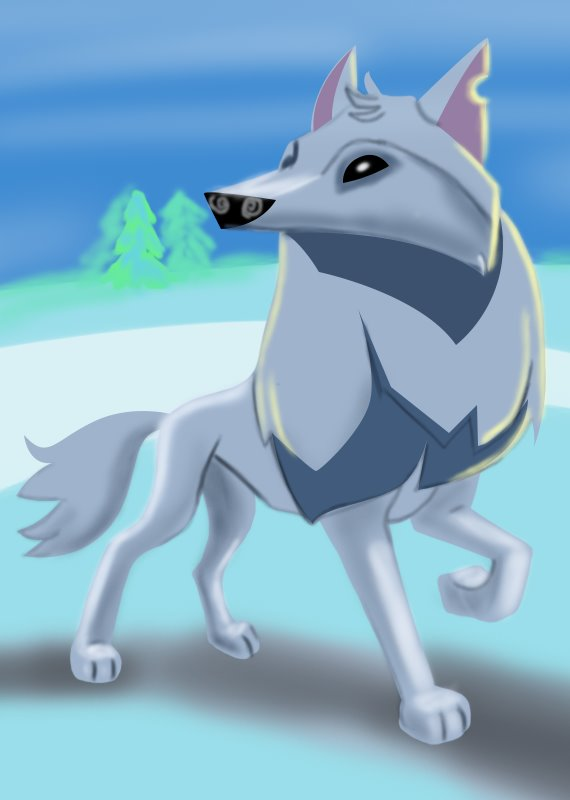 Learn How To Draw Arctic Wolf From Animal Jam Animal Jam
