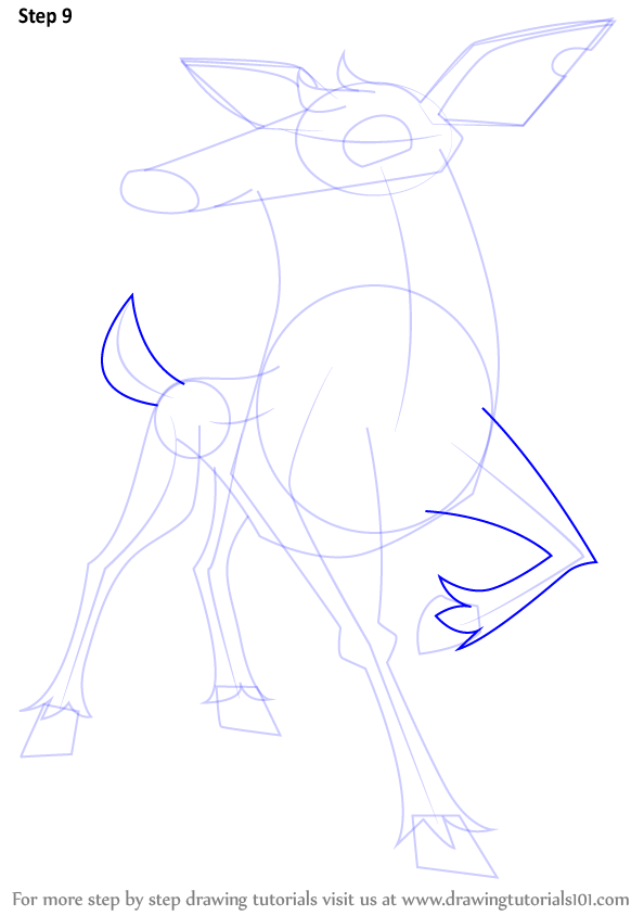 Learn how to draw deer from animal jam animal jam step by step draw outline for tail left arm ccuart Choice Image