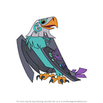 How to Draw Enchanted Eagle from Animal Jam