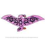 How to Draw Fearsome Falcon from Animal Jam