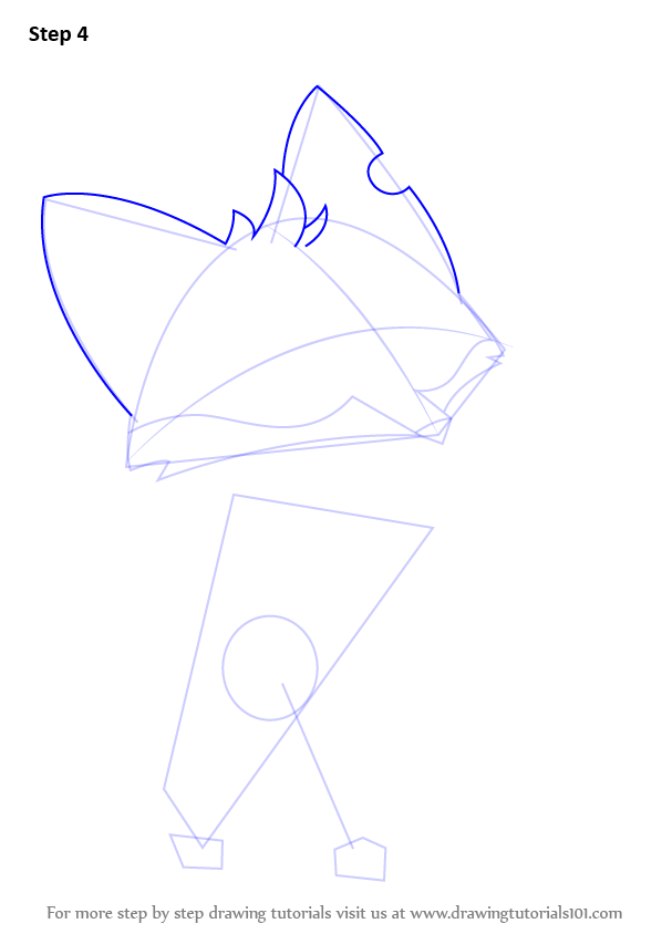 how to draw an animal jam fox