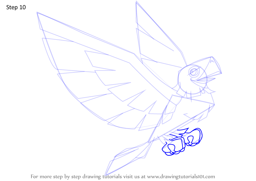 Learn How To Draw Legendary Eagle From Animal Jam Animal