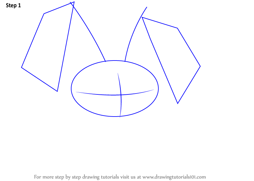 Image of: Art Peck From Animal Jam Step 1 Start The Drawing By Sketching An Oval Draw Outline For Ears Drawingtutorials101com Learn How To Draw Peck From Animal Jam animal Jam Step By Step
