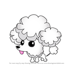 How to Draw Pet Poodle from Animal Jam
