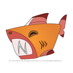 How to Draw Pet Shark from Animal Jam