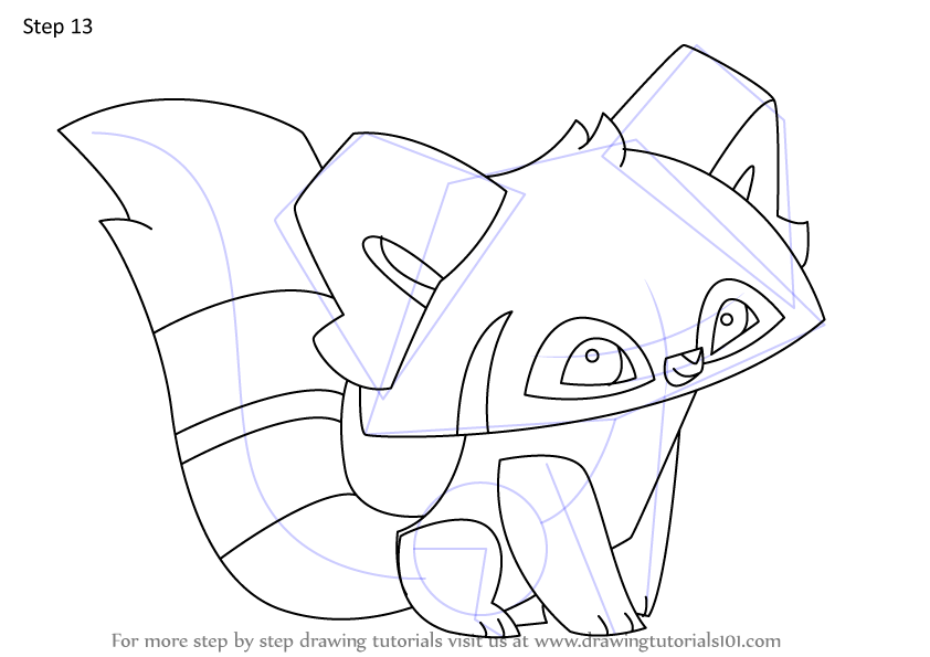 Learn How to Draw Red Panda from Animal Jam (Animal Jam ...