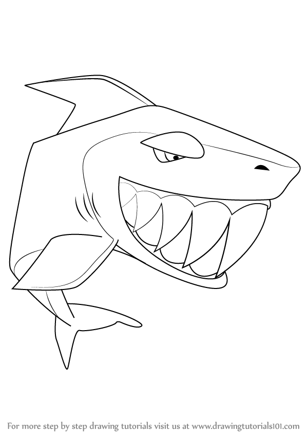 Learn how to draw shark from animal jam animal jam step by step drawing tutorials