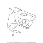How to Draw Shark from Animal Jam