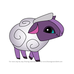 How to Draw Sheep from Animal Jam