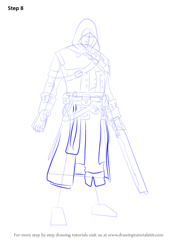Learn How To Draw Shay Patrick Cormac From Assassin S