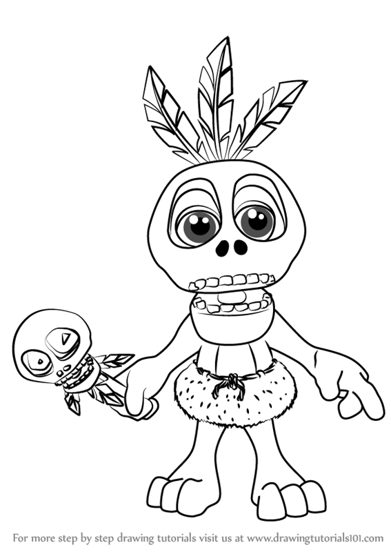 Two Tailed Hummingbird tumblr additionally  together with  also Lake res further How To Draw Gloop The Fish From Banjo Kazooie. on kazoo coloring page