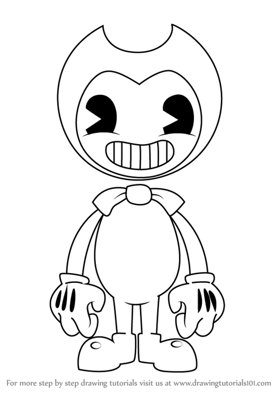 How To Draw Cartoon Bendy Free Download Oasis Dl Co