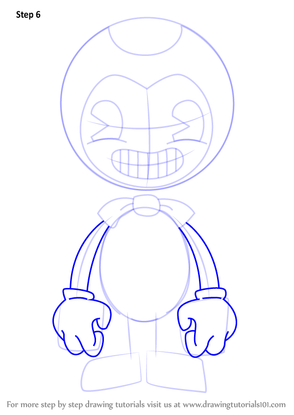 bendy and the ink machine bendy drawing