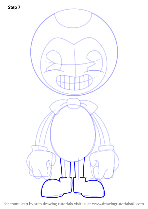 Learn How To Draw Bendy From Bendy And The Ink Machine