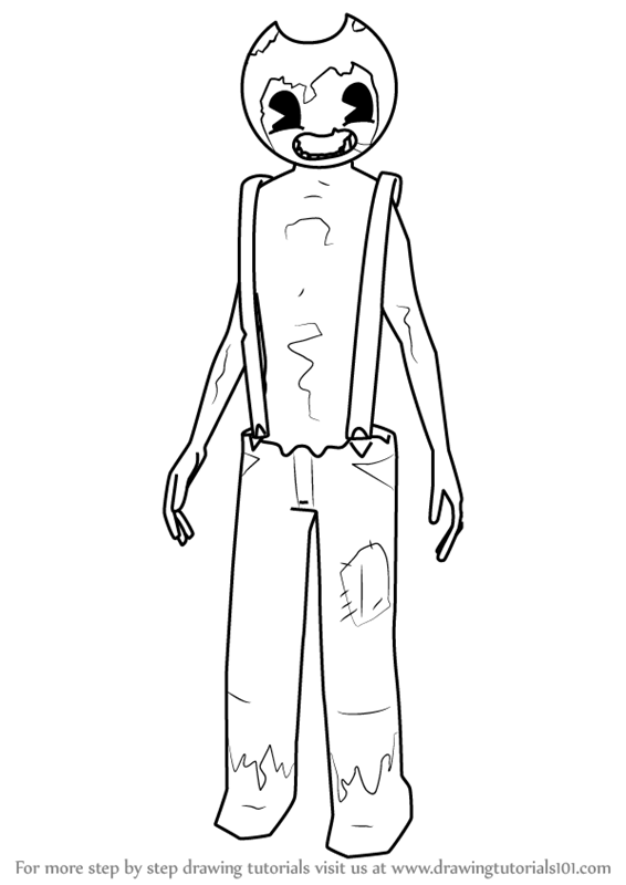 Sammy From Bendy And The Ink Machine Coloring Pages Www Sham Store