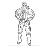 How to Draw Wilhelm from Borderlands