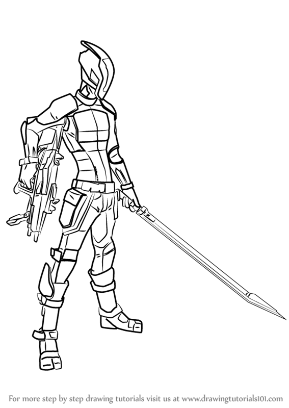 Step by Step How to Draw Zer0 from
