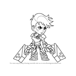 How to Draw Ada from Brawlhalla