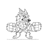How to Draw Mordex from Brawlhalla