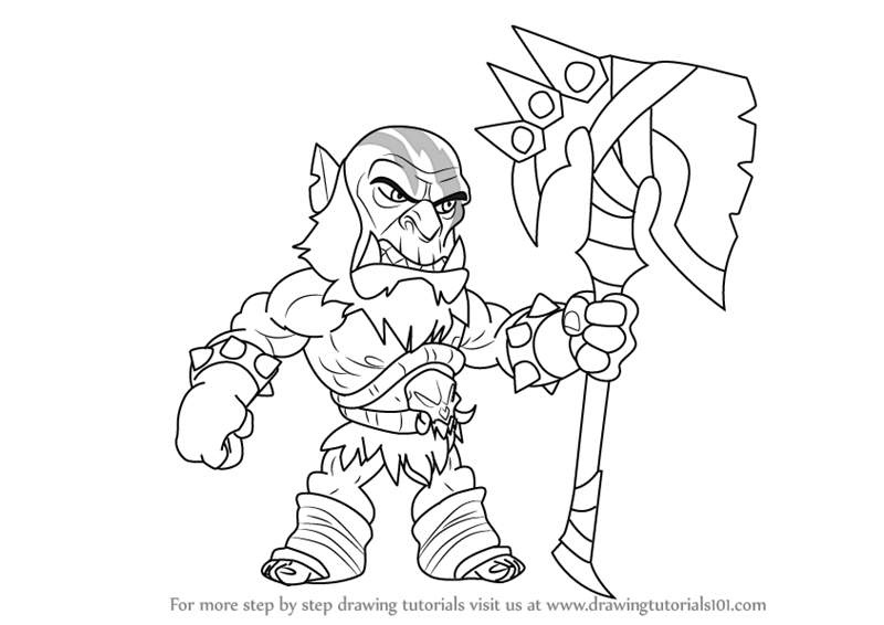 Learn How to Draw Xull from Brawlhalla