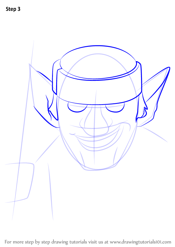 Learn How to Draw Spear Goblins from Clash Royale (Clash ... Batman Drawing In Pencil Easy